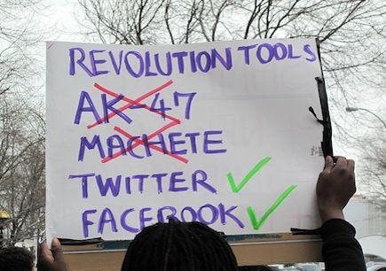 Revolucion de las redes sociales